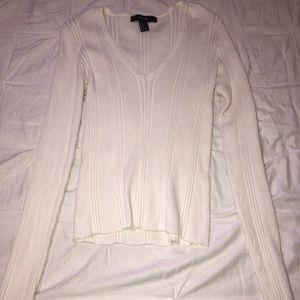 Forever21 long sleeve ribbed shirt